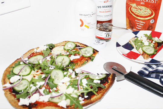 The Mediterranean Diet, Low Carb Pizza Of Our Dreams