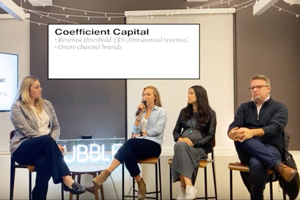 BUBBLE Presents: CPG Venture Panel