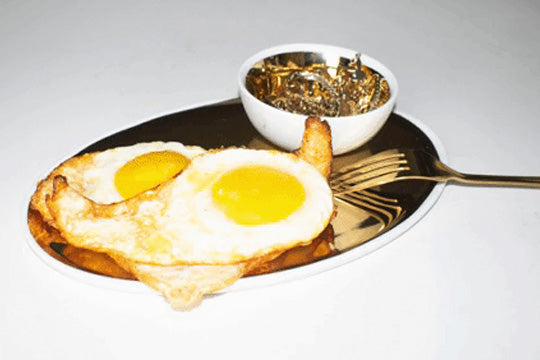 Everything Golden Recipe: Turmeric Fried Eggs