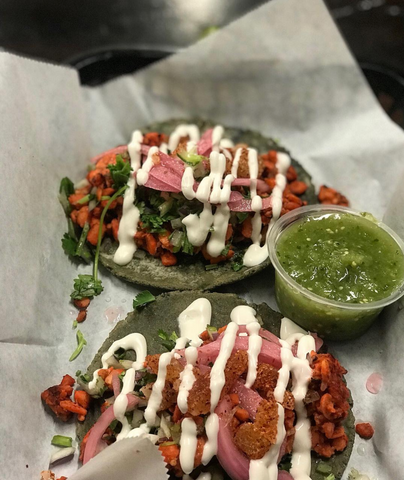 Bubble Blog Masataco Activated Charcoal Vegan Tacos Online marketplace grocery store