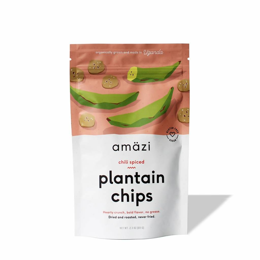 Chili Spiced Plantain Chips (3-Pack)