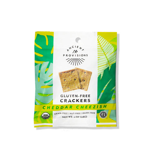 Cheddar Cheezish Crackers (6-pack)