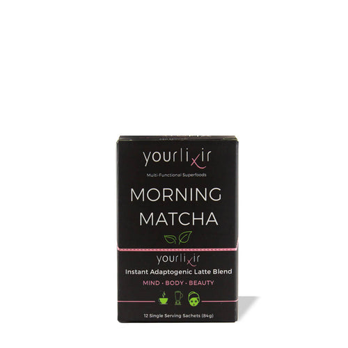 Adaptogenic Morning Matcha + Probiotic Sachets (12-Pack)