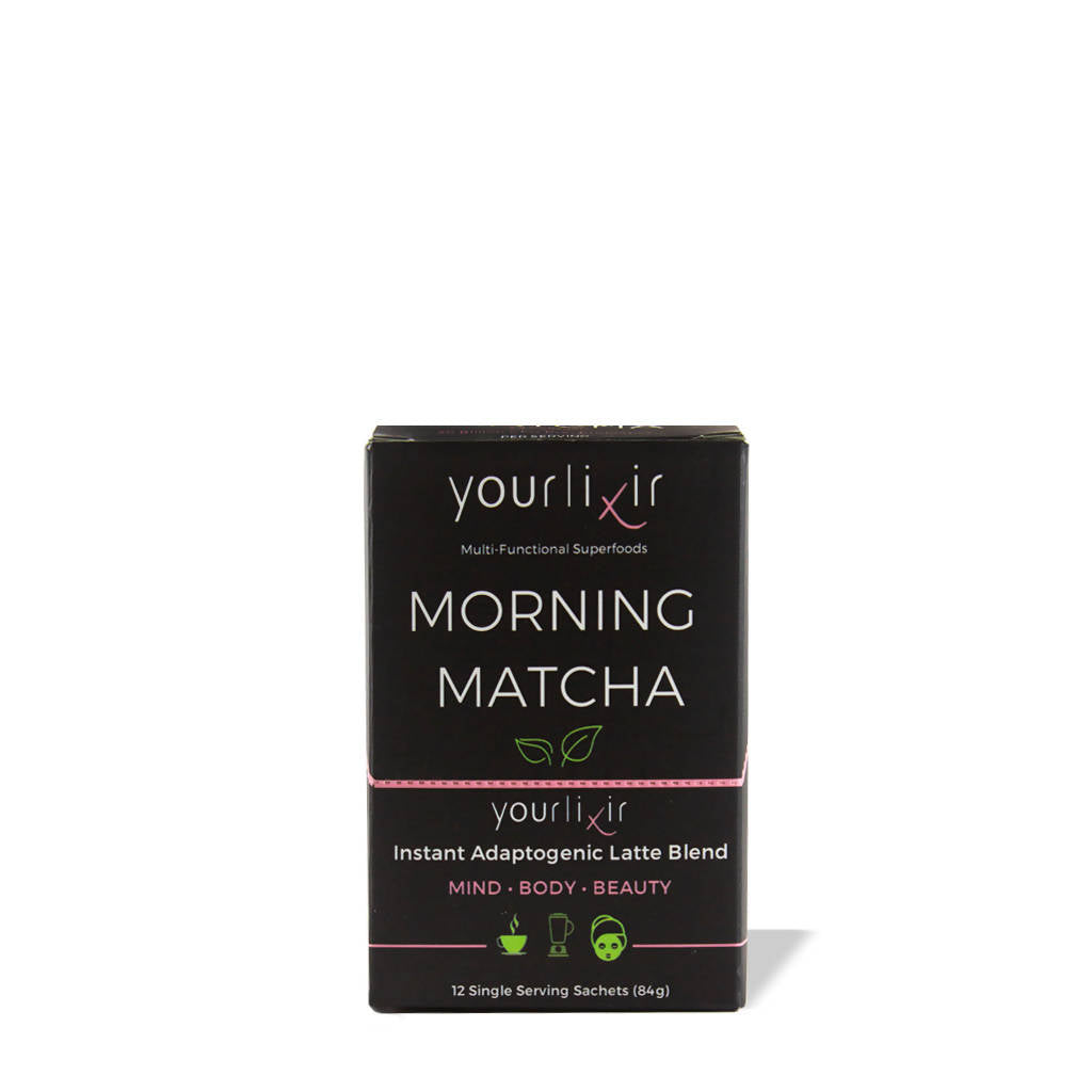 Collagen + Probiotic Functional Matcha Latte Sachets (12-Pack)