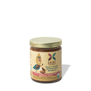 Raw Cacao Sprouted Spread: Coconut + Almond + Brazil Nut
