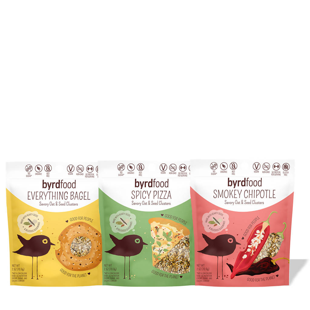 Medium Savory Oat & Seed Clusters Sampler (pack)