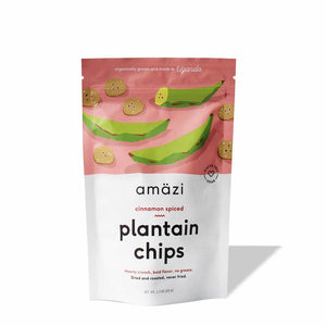 Cinnamon Spiced Plantain Chips (3-pack)
