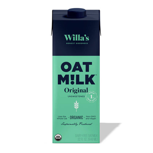 Unsweetened Original Organic Oat Milk (pack)