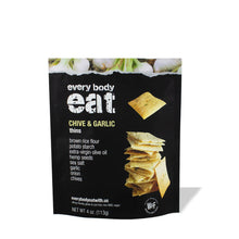 Chive and Garlic Thins (4-pack)