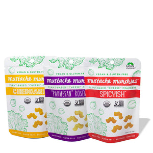 Mustache Munchies 1oz Variety 6-Pack