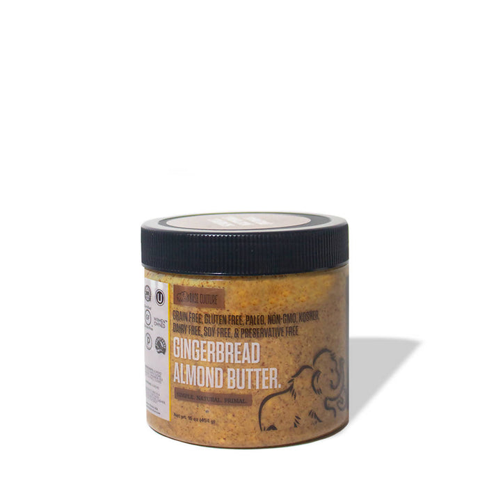 Gingerbread Almond Butter