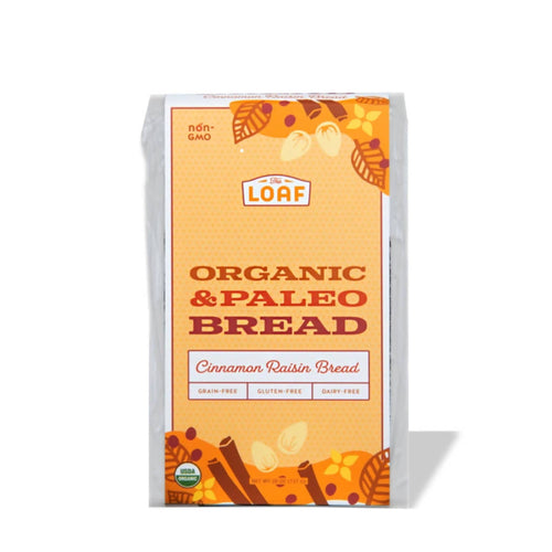 Organic & Paleo Cinnamon Raisin Bread (pack)