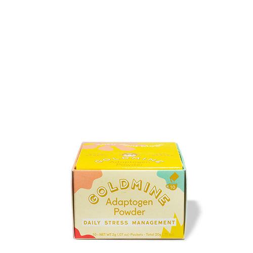 Goldmine Daily Adaptogen Powder Sachet Box