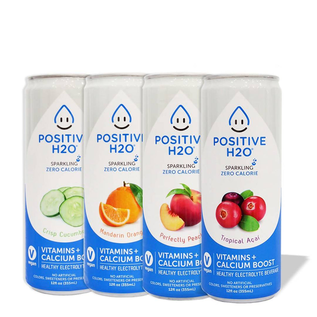Positive H2O Variety Pack (48-pack)