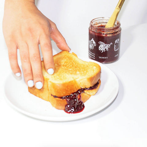 2oz Blackcurrant Shiro Plum Jam