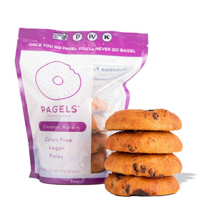 Cinnamon Raisin Paleo Bagel (2-pack)