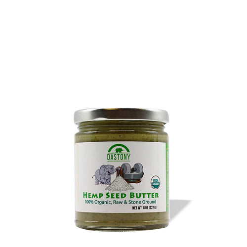 Stone Ground Raw Hemp Seed Butter