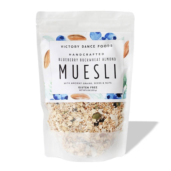 Blueberry Buckwheat Almond Muesli 8oz Bag