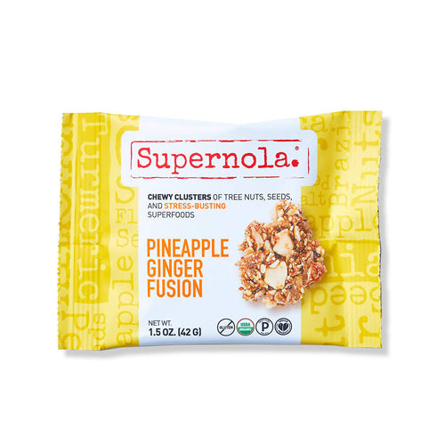 Pineapple Ginger Fusion Clusters (12-Pack)