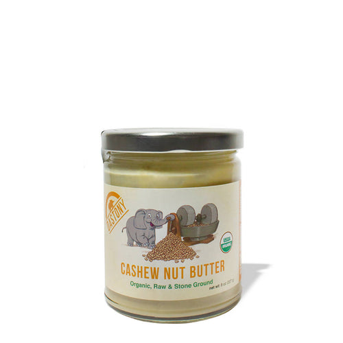 Stone Ground Raw Cashew Butter