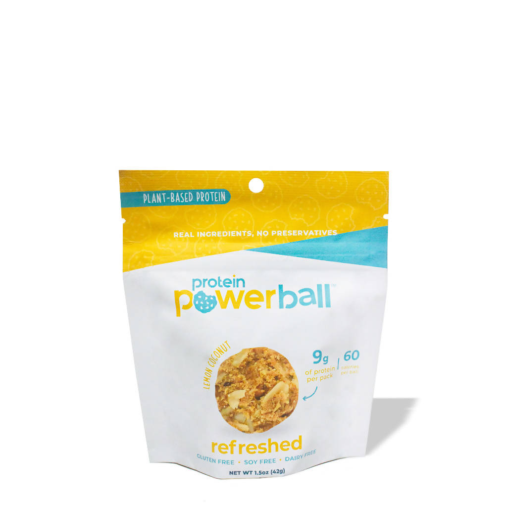 Lemon Coconut Refreshed Protein Balls - 1.5oz Bag (pack)