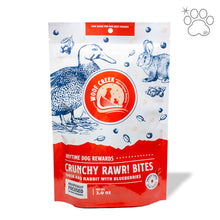 Dog - Crunchy Duck and Rabbit Rawr Bites with Blueberries (Puppy-Adult)