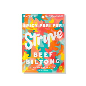 Spicy Peri Peri Sliced Biltong 3-pack