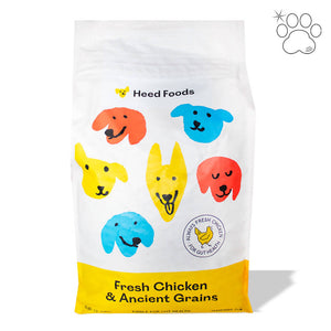 Dog Kibble - Fresh Chicken and Ancient Grains (Puppy-Adult)