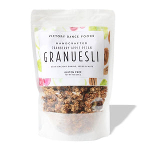 Cranberry Apple Pecan Granuesli 8oz Bag