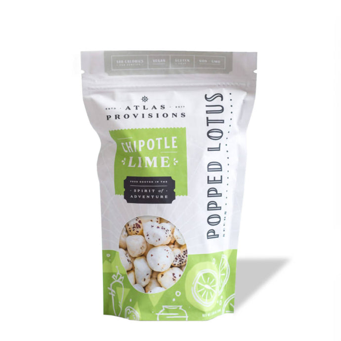 Chipotle Lime Popped Lotus Seeds (1-Pack)
