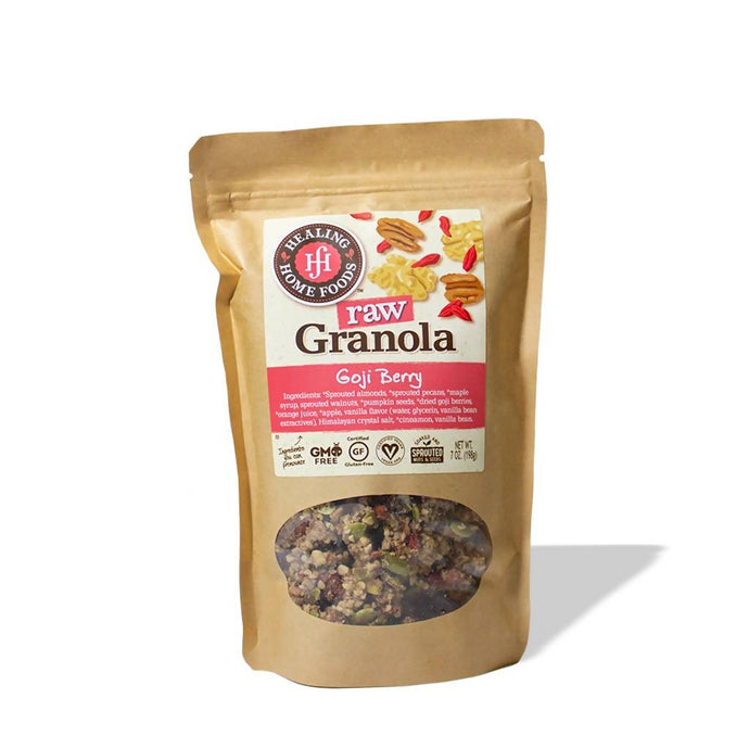 Raw Goji Berry Granola