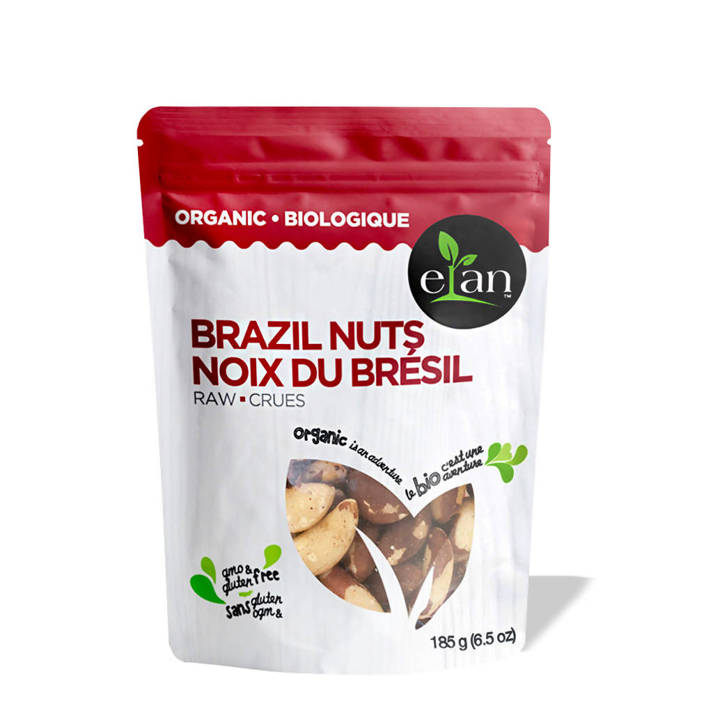 Elan Organic Raw Brazil Nuts (8-pack)