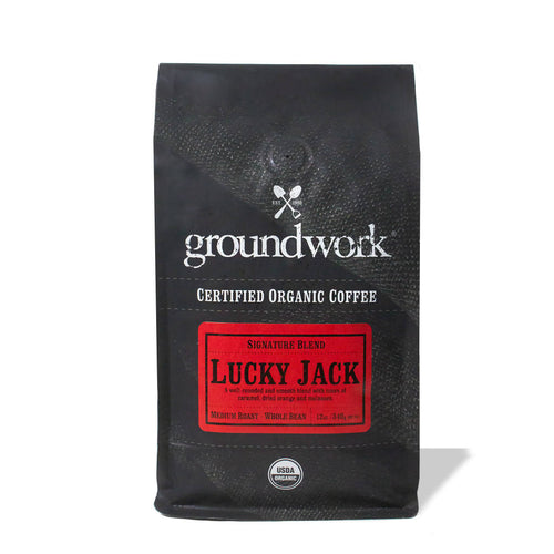 Whole Bean Lucky Jack Coffee
