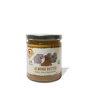Stone Ground Raw Almond Butter