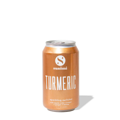 Sparkling Turmeric Switchel (6-pack)