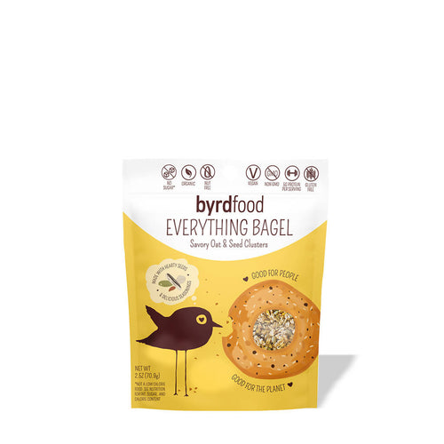 Everything Bagel Savory Oat & Seed Clusters (pack)