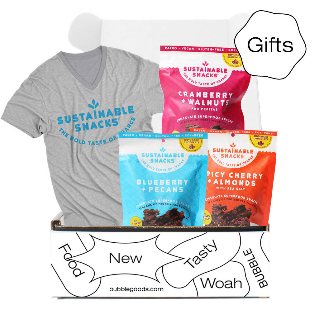 Superfood Swag Bundle (Variety 3-pack + Soft T-Shirt)