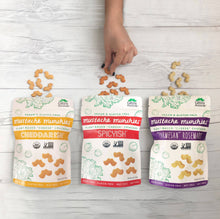 "Plant Based ""Cheese"" Crackers 4 oz Variety Pack"
