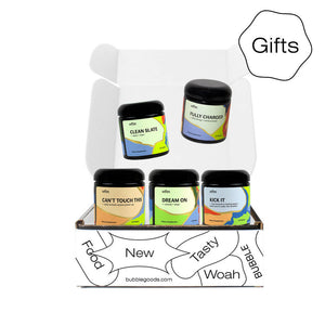 Organic Herbal Supplements Gift Set (5 herb blends)