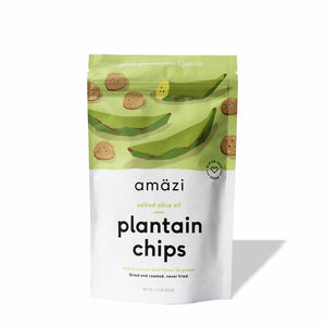Salted Olive Oil Plantain Chips (3-Pack)