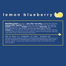 Lemon Blueberry Energy Bar (12-Pack)