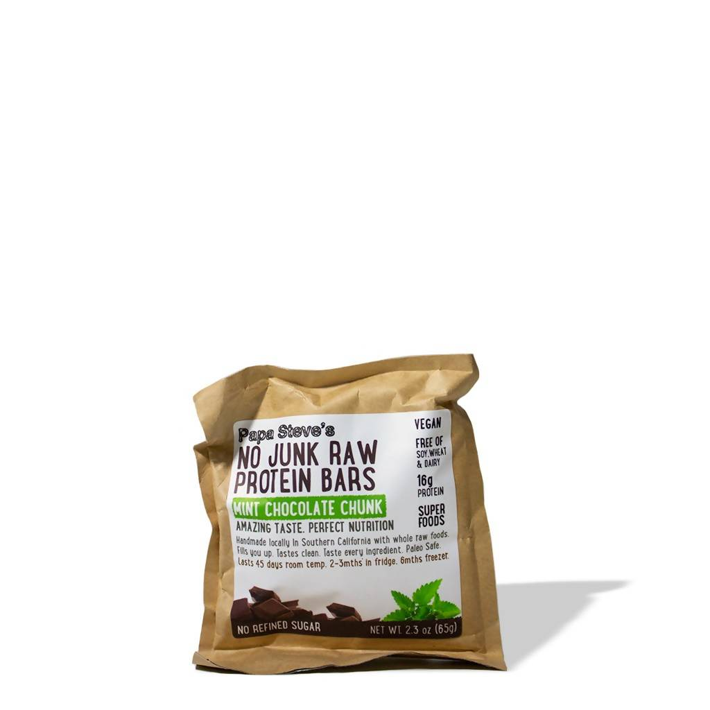 Mint Chocolate Chunk Protein Bars (pack)
