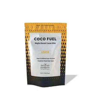Coco Fuel Lemon Maple Glazed Cacao Nibs (4-pack)