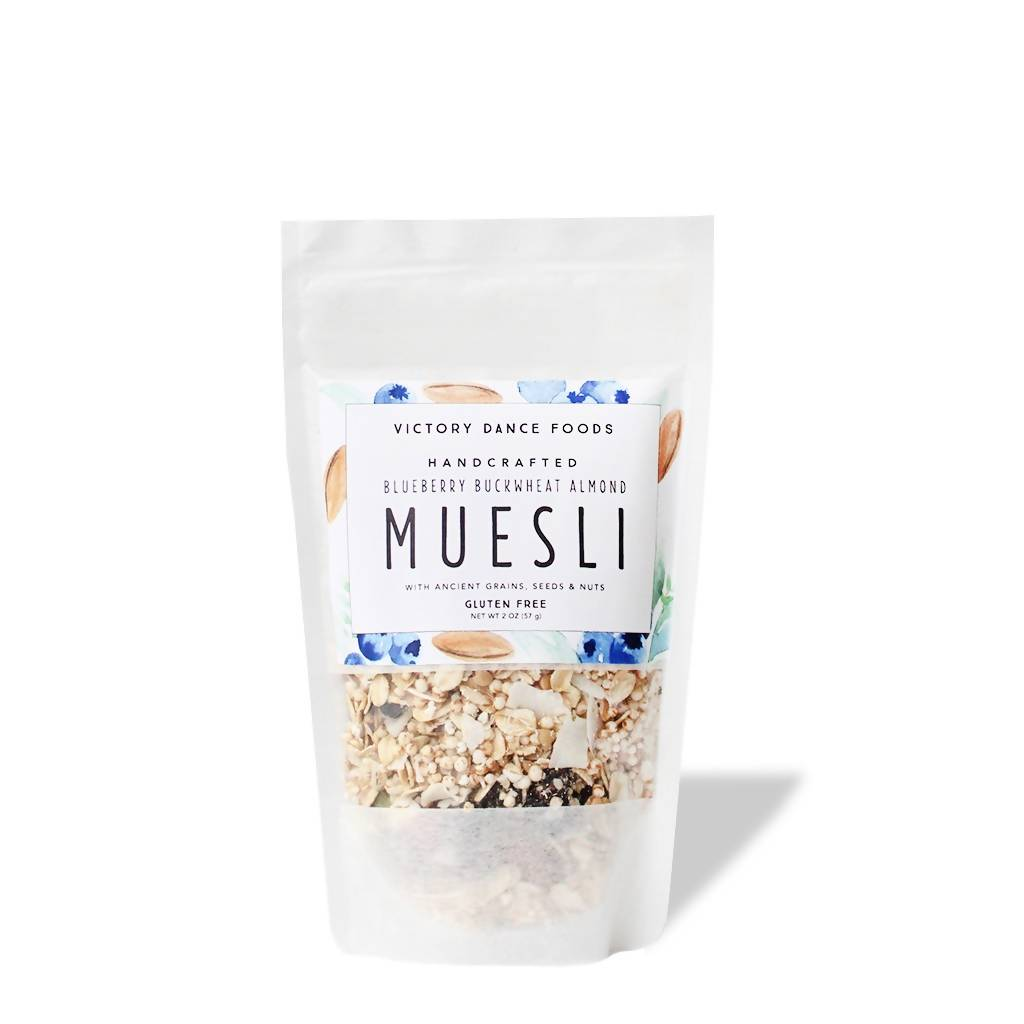 Blueberry Buckwheat Almond Muesli (2 oz)