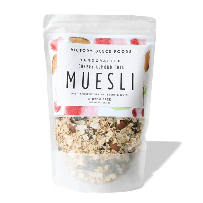 Cherry Almond Chia Muesli 8oz Bag