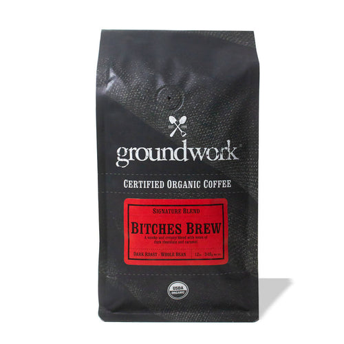 Whole Bean B*tches Brew Smoky blend Coffee