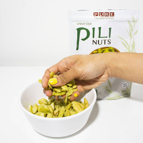 Chili Garlic Pili Nuts