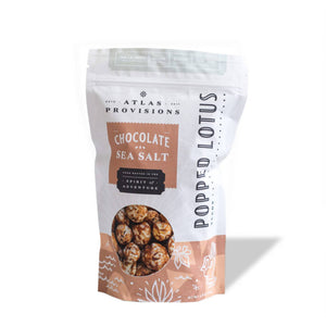 Chocolate Sea Salt Popped Lotus Seeds (1-Pack)