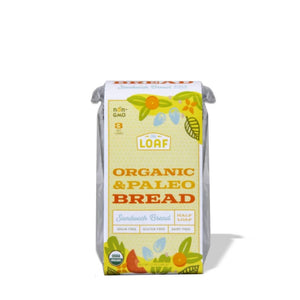 Organic and Paleo Sandwich Bread (pack)