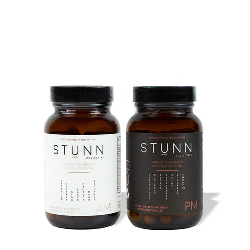 STUNN Wellness Infused Beauty Supplements (AM+PM Combined Kit)